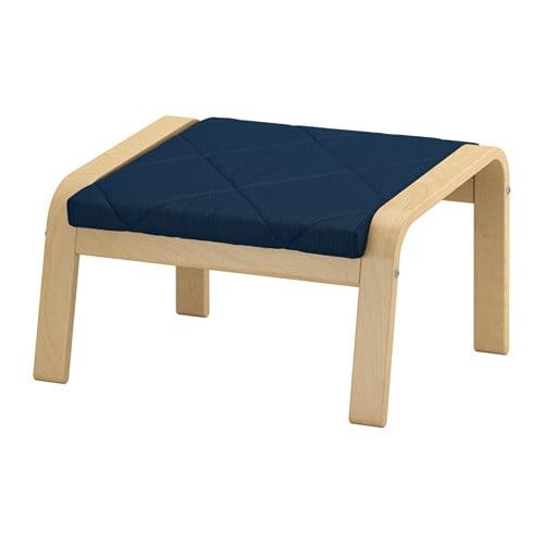 po ng hocker edum dunkelblau ikea. Black Bedroom Furniture Sets. Home Design Ideas