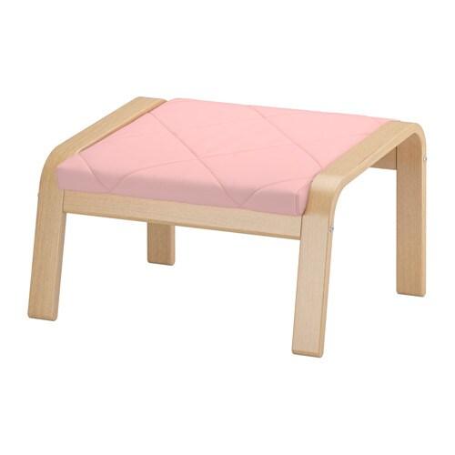 po ng hocker edum rosa ikea. Black Bedroom Furniture Sets. Home Design Ideas