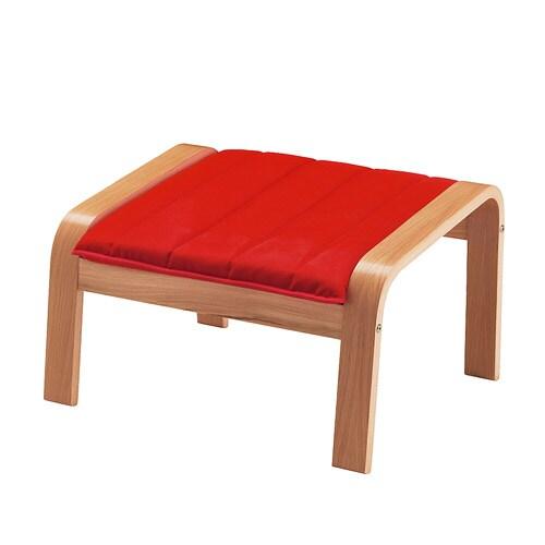 po ng hocker ransta rot ikea. Black Bedroom Furniture Sets. Home Design Ideas