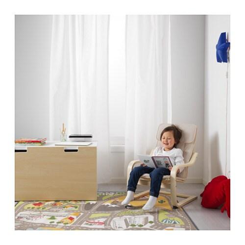 IKEA POÄNG Kindersessel Birkenfurnier Kinder Sessel Stuhl