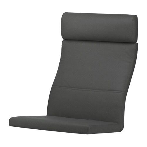 Sessel ikea grau  POÄNG Polster für Sessel - Finnsta grau - IKEA