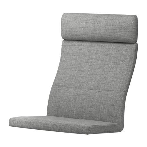 POÄNG Polster für Sessel - Isunda grau - IKEA