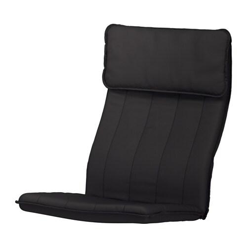 po ng polster f r sessel ransta schwarz ikea. Black Bedroom Furniture Sets. Home Design Ideas