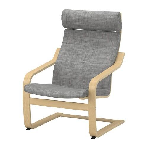 po ng polster f r sessel isunda grau ikea. Black Bedroom Furniture Sets. Home Design Ideas