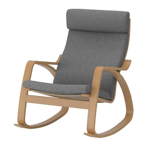 po ng schaukelstuhl lysed grau ikea. Black Bedroom Furniture Sets. Home Design Ideas