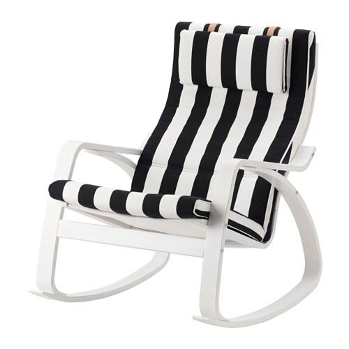 po ng schaukelstuhl stenli schwarz wei ikea. Black Bedroom Furniture Sets. Home Design Ideas