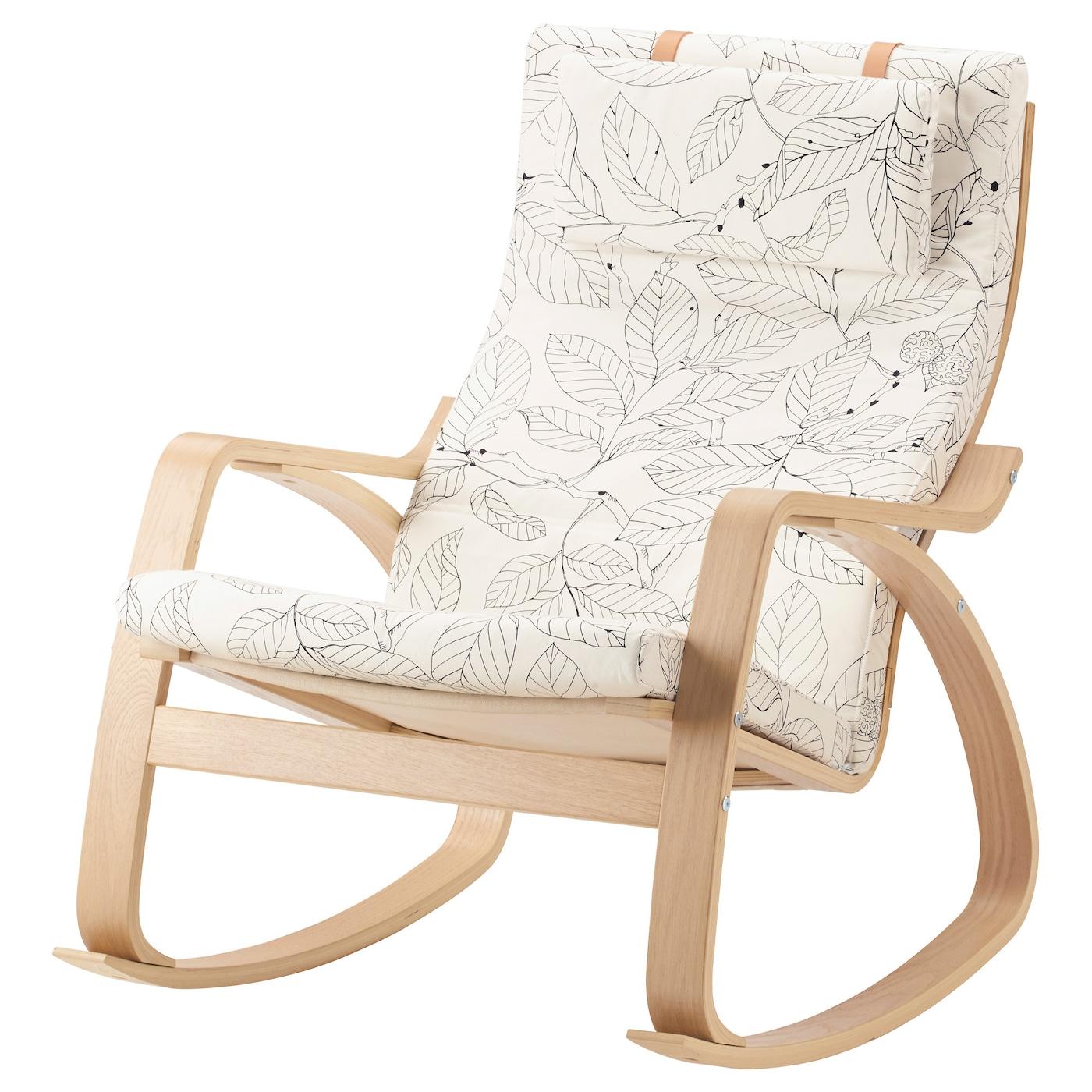 POÄNG   Wohnzimmer > Sessel > Schaukelsessel   Schwarz - Weiß   IKEA