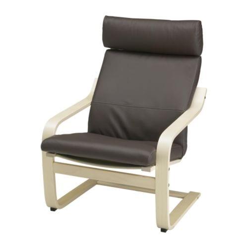 po ng sessel glose dunkelbraun ikea. Black Bedroom Furniture Sets. Home Design Ideas