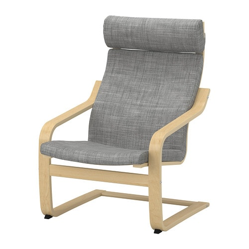 po ng sessel isunda grau birkenfurnier ikea. Black Bedroom Furniture Sets. Home Design Ideas