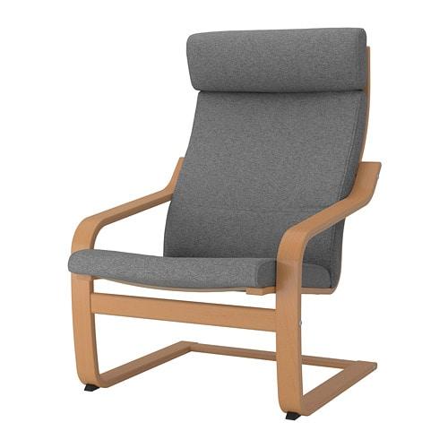 po ng sessel lysed grau ikea. Black Bedroom Furniture Sets. Home Design Ideas