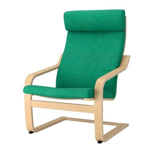 POÄNG Sessel - Lysed leuchtend grün - IKEA
