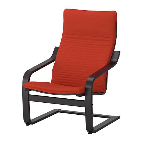 po ng sessel knisa rot orange ikea. Black Bedroom Furniture Sets. Home Design Ideas