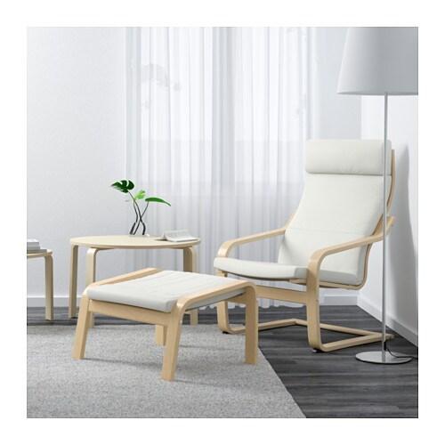 POÄNG Sessel   Stenli Schwarz/weiß   IKEA