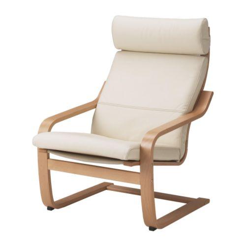 po ng sessel glose eierschalenfarben ikea. Black Bedroom Furniture Sets. Home Design Ideas