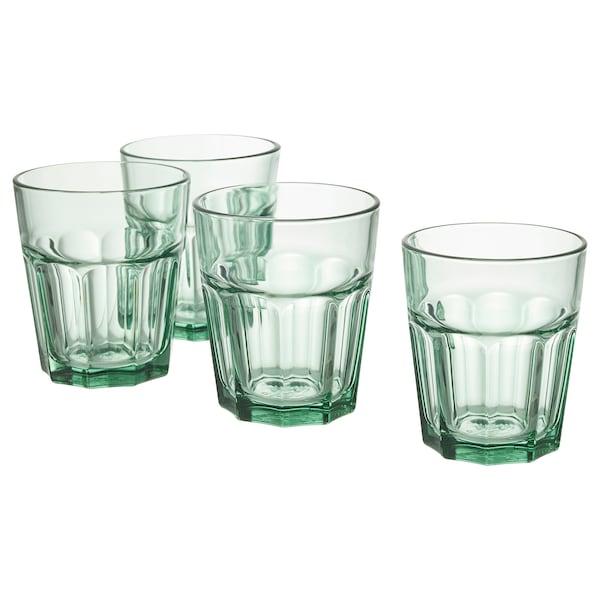 POKAL Glas grün 10 cm 27 cl 4 Stück