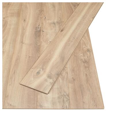 PRÄRIE Laminatfußboden Eichenachbildung 129 cm 19 cm 7 mm 14 kg 2.25 m² 9 Stück