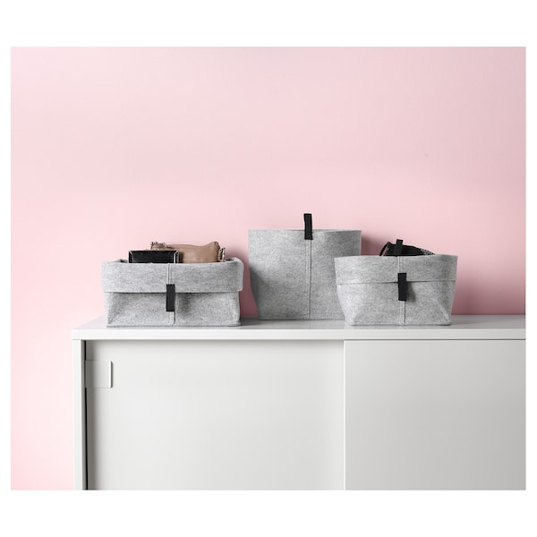 IKEA RAGGISAR Korb 3er-set