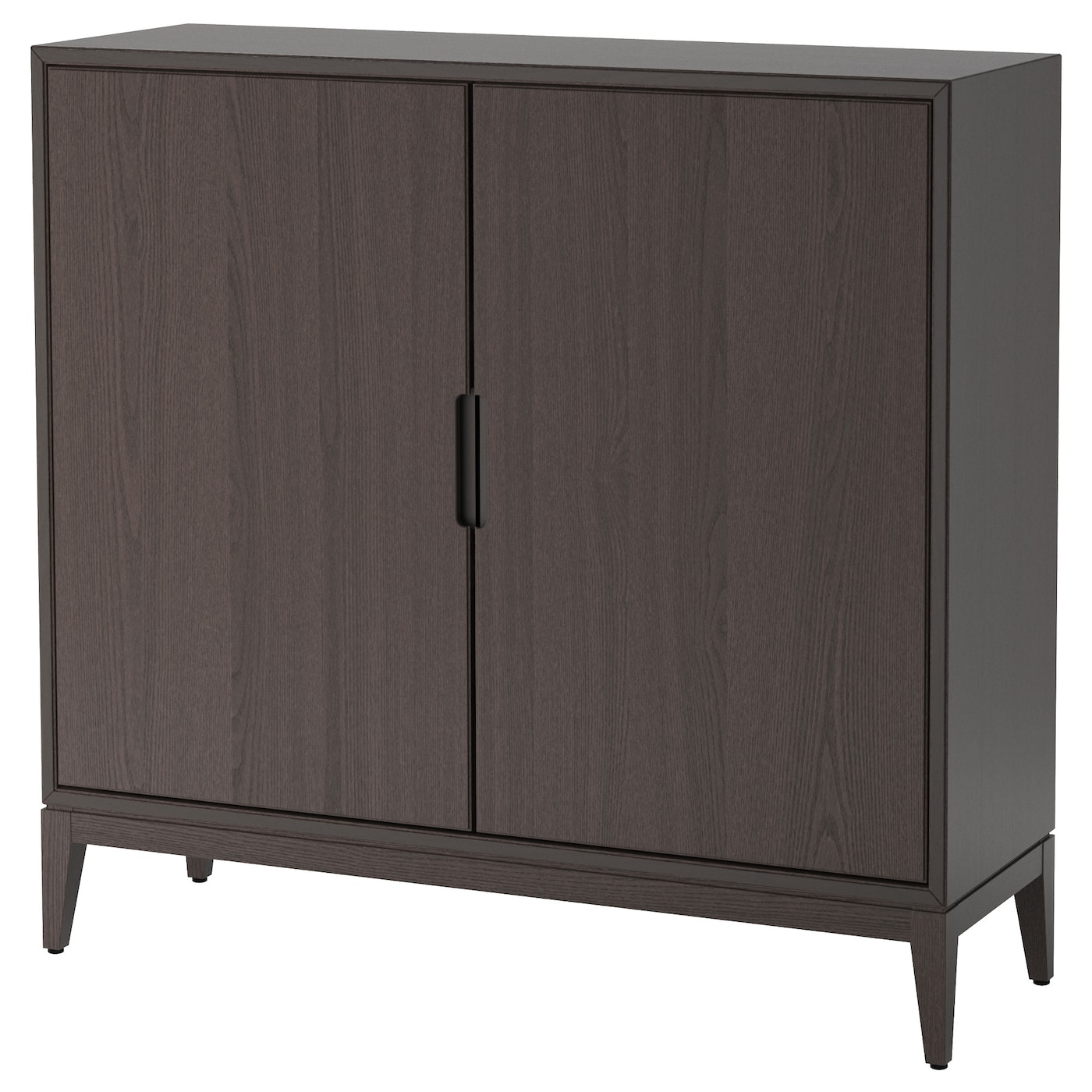 HEMNES Schrank mit 2 Türen - weiß gebeizt - IKEA