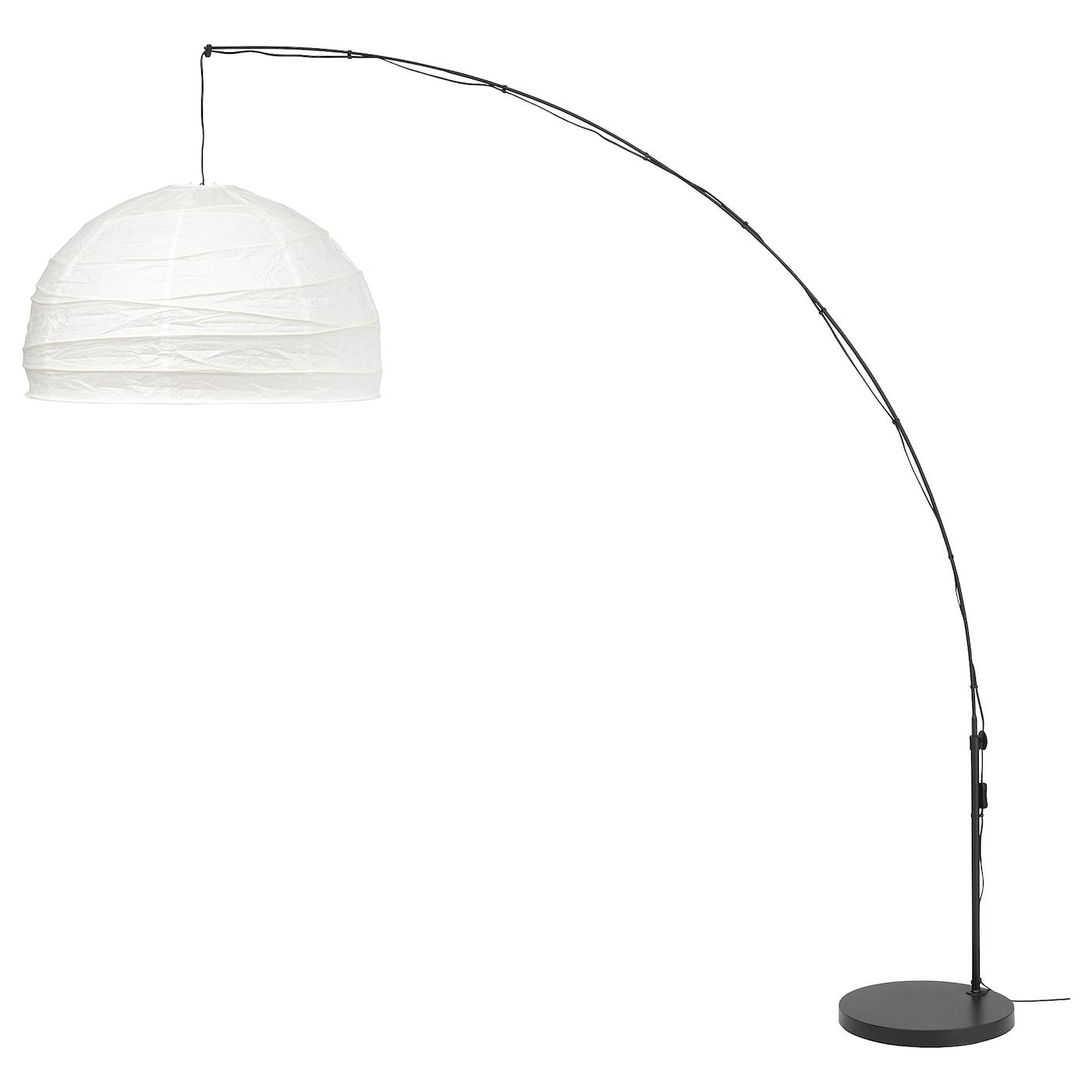Regolit Standleuchte Bogenformig Weiss Schwarz Ikea Deutschland