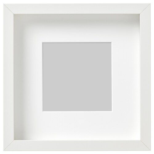 RIBBA Rahmen weiß 23 cm 23 cm 13 cm 13 cm 12 cm 12 cm 4.5 cm 25 cm 25 cm
