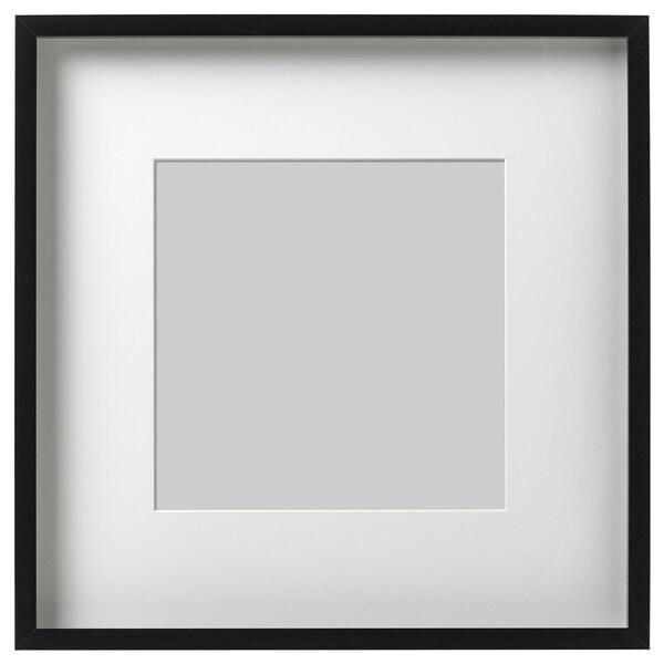 RIBBA Rahmen, schwarz, 50x50 cm