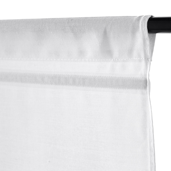 RINGBLOMMA Faltrollo, weiß, 140x160 cm