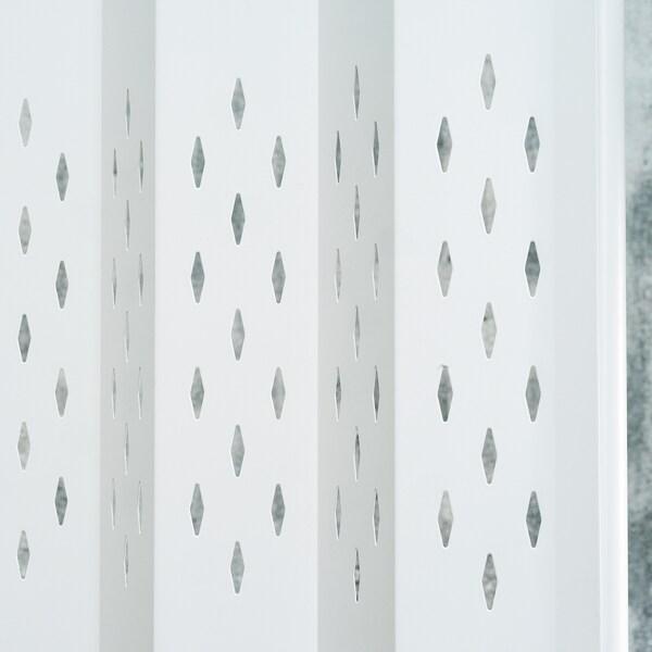 SAMMANKOPPLA Raumteiler, weiß, 113x163 cm