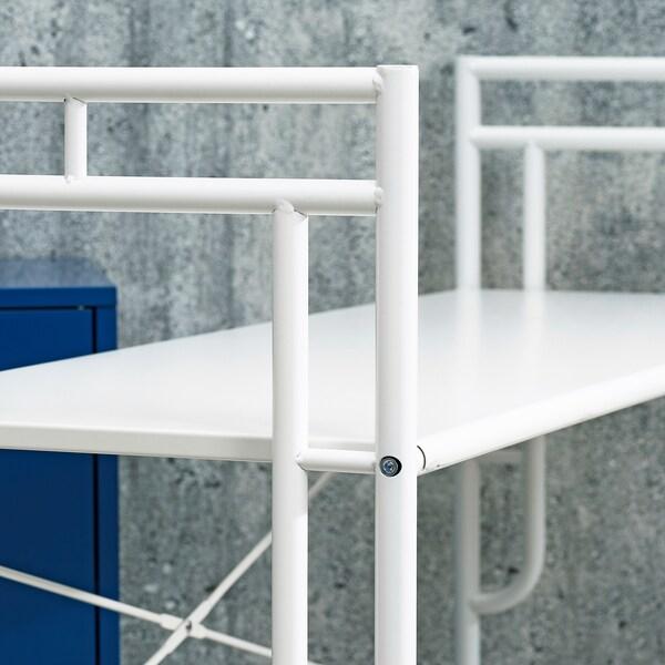 SAMMANKOPPLA Regal, weiß, 113x99 cm