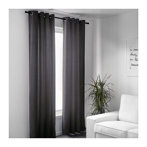 sanela gardinenpaar - ikea, Wohnzimmer dekoo