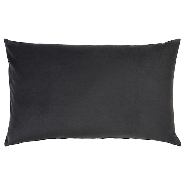 SANELA Kissenbezug, dunkelgrau, 40x65 cm
