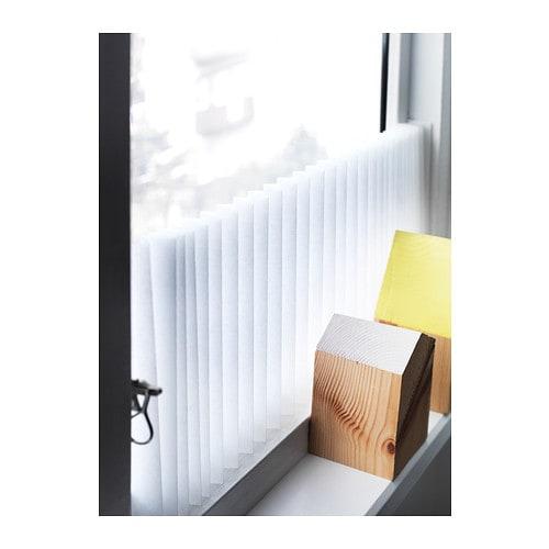 ikea schottis faltjalousie plisee gardine rollo vorhang jalousie ohne bohren neu ebay. Black Bedroom Furniture Sets. Home Design Ideas