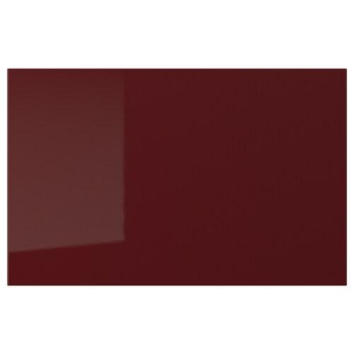 SELSVIKEN Tür/Schubladenfront Hochglanz dunkel rotbraun 60 cm 38 cm