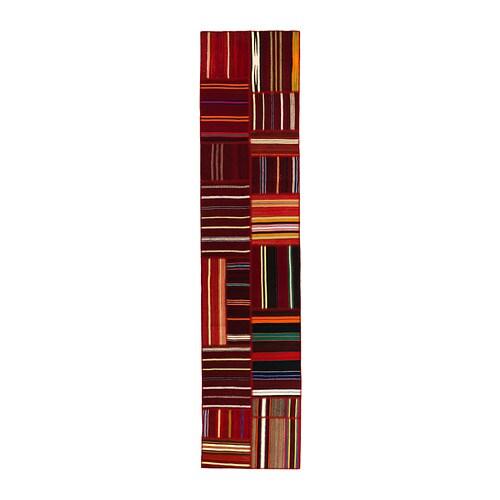 Teppich gestreift  SILKEBORG Teppich flach gewebt - Handarbeit gestreift - IKEA