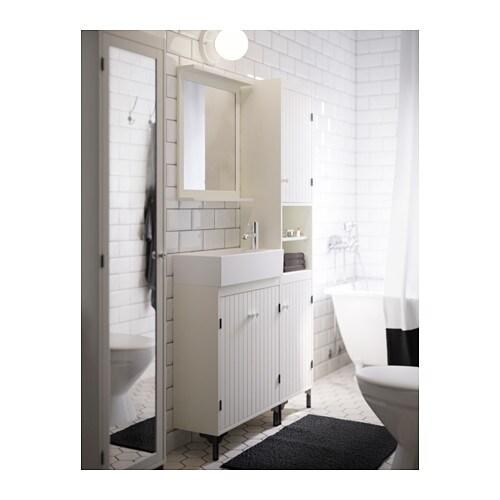 SILVERÅN Spiegel mit Ablage - IKEA | {Spiegel mit beleuchtung ikea 55}