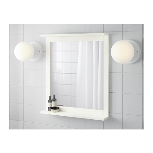 silver n spiegel mit ablage ikea. Black Bedroom Furniture Sets. Home Design Ideas