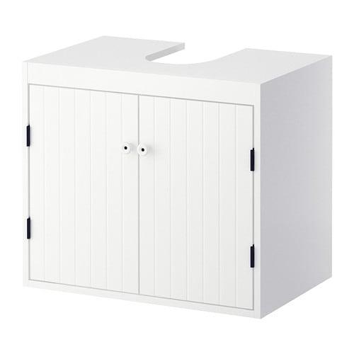 Waschbeckenunterschrank ikea  SILVERÅN Waschbeckenunterschrank, 2 Türen - IKEA