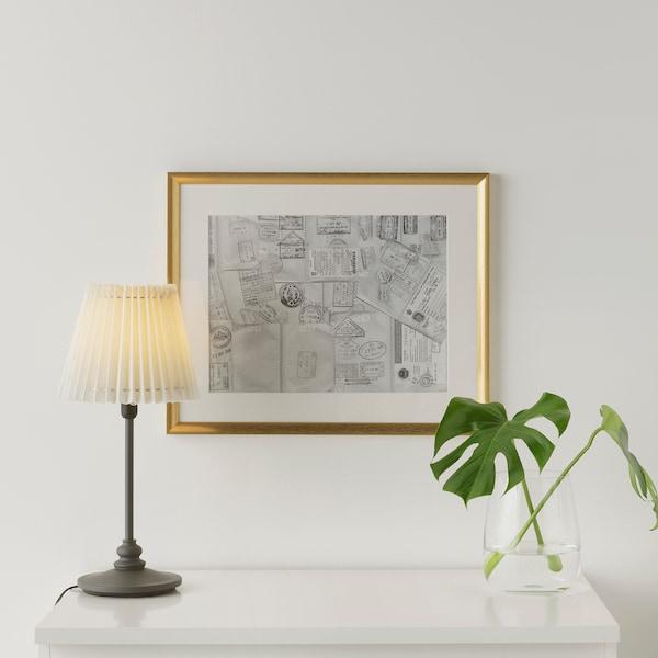 SILVERHÖJDEN Rahmen, goldfarben, 40x50 cm