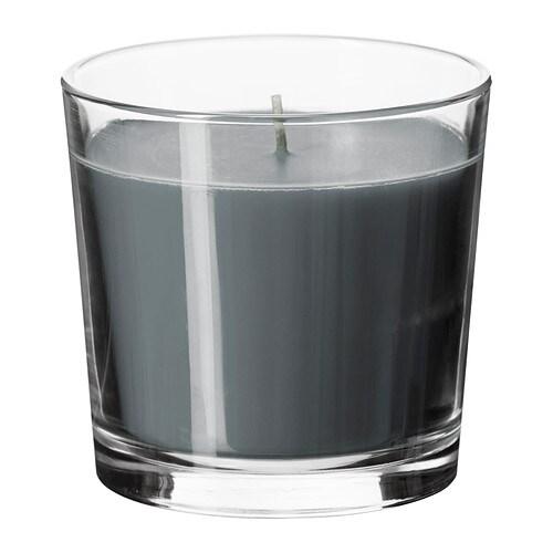sinnlig duftkerze im glas ikea