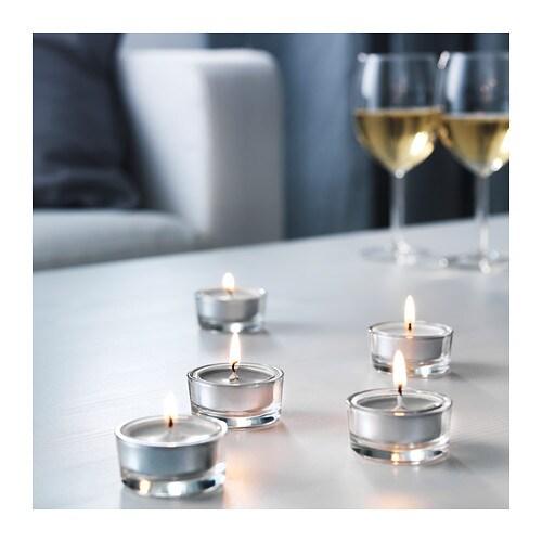 30 x duft teelichter teelicht kerze duftkerzen ikea teelicht kerzen grau neu ovp ebay. Black Bedroom Furniture Sets. Home Design Ideas