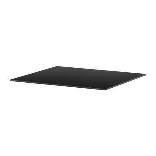 Tischplatte ikea glas  SJÄLLAND Tischplatte - Glas/dunkelgrau - IKEA
