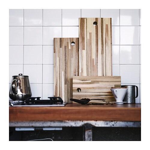 ikea massiv akazie schneidebrett holz k chenbrett. Black Bedroom Furniture Sets. Home Design Ideas