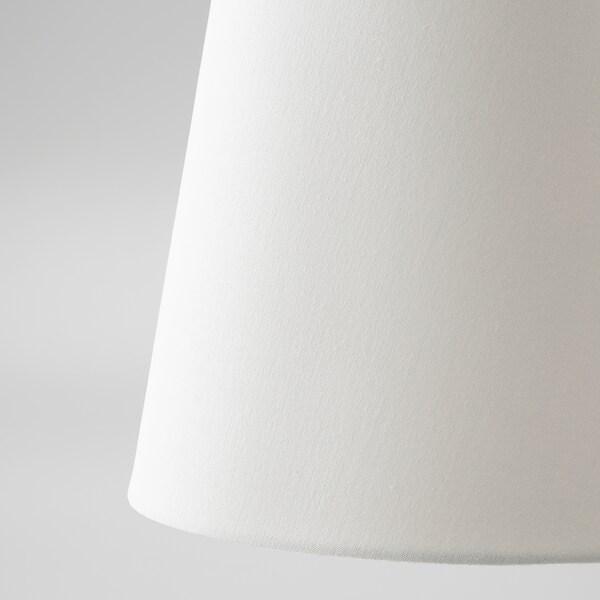 SKOTTORP Leuchtenschirm, weiß, 33 cm