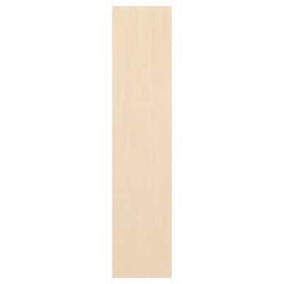 SKROVA Tür mit Scharnier Birke 40 cm 180 cm
