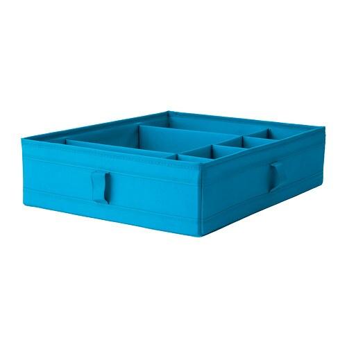 Faktum Ikea Schubladen Herausnehmen ~ SKUBB Kasten mit Fächern  türkis  IKEA