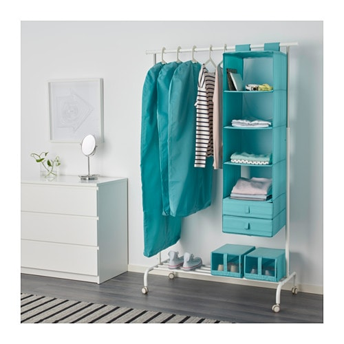 ikea skubb kleiderschutzh lle 3 st ck kleidersack kleiders cke hellblau t rkis ebay. Black Bedroom Furniture Sets. Home Design Ideas
