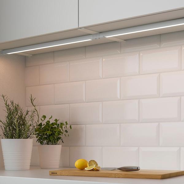 SKYDRAG LED-Lichtleiste/Arbpl/Klschr+Sensor, dimmbar weiß, 80 cm