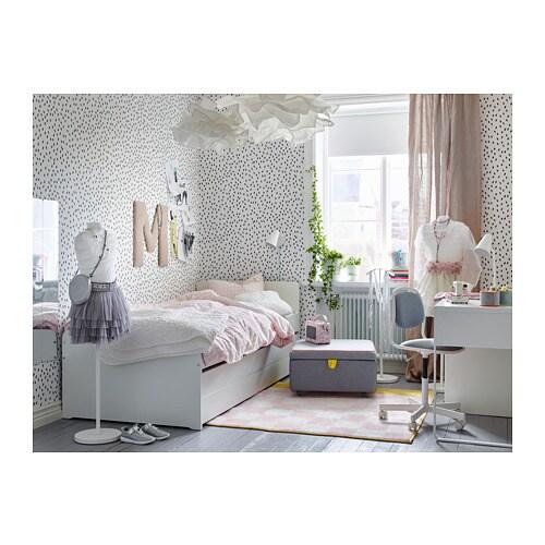 Ikea einzelbett mit unterbett  SLÄKT Unterbett mit Aufbewahrung - IKEA