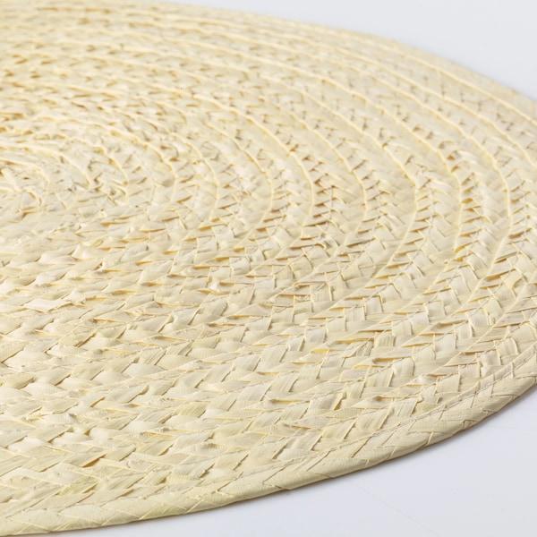 SLUTEN Tischset Palmenblatt/naturfarben 37 cm