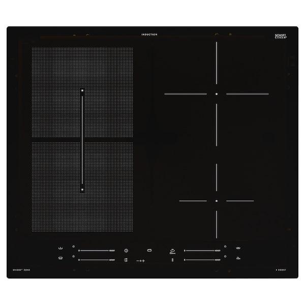 SMAKLIG Induktionskochfeld, IKEA 500 schwarz, 59 cm