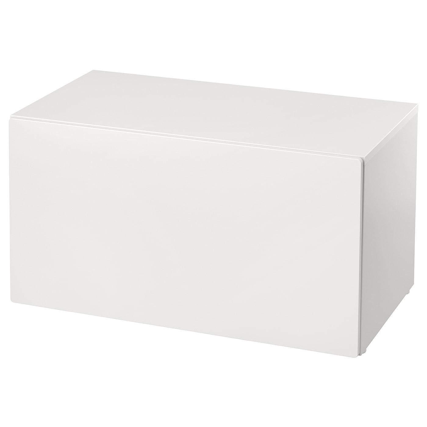 SMÅSTAD Bank mit Kasten - weiß/weiß - IKEA Deutschland